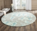 Safavieh Dip Dyed Ddy716l Grey - Turquoise Area Rug - 126765