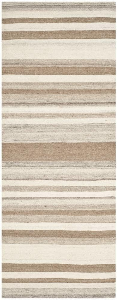 Safavieh Dhurries Dhu631a Natural - Camel Area Rug - 94390