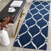 Safavieh Four Seasons Frs242h Navy - Ivory Area Rug - 143383