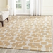 Safavieh Four Seasons Frs245d Gold - Ivory Area Rug - 143393