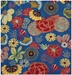 Safavieh Four Seasons Frs470a Blue - Red Area Rug - 94434