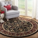 Safavieh Heritage HG953A Black - Red Area Rug - 49877