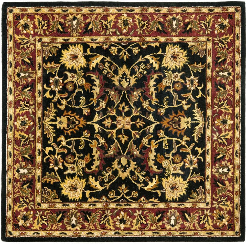 Safavieh Heritage HG953A Black - Red Area Rug Clearance - 49877
