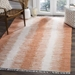Safavieh Montauk MTK751C Orange Area Rug - 100644