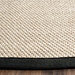 Safavieh Natural Fiber NF143A Marble - Black Area Rug - 155588