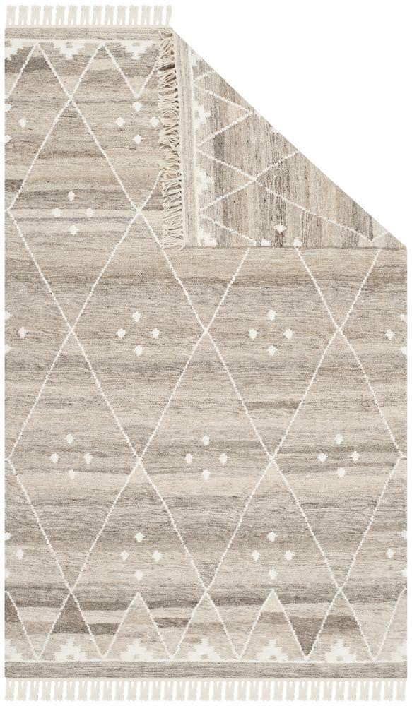 Safavieh Natural Kilim Nkm316b Natural - Ivory Area Rug - 94525
