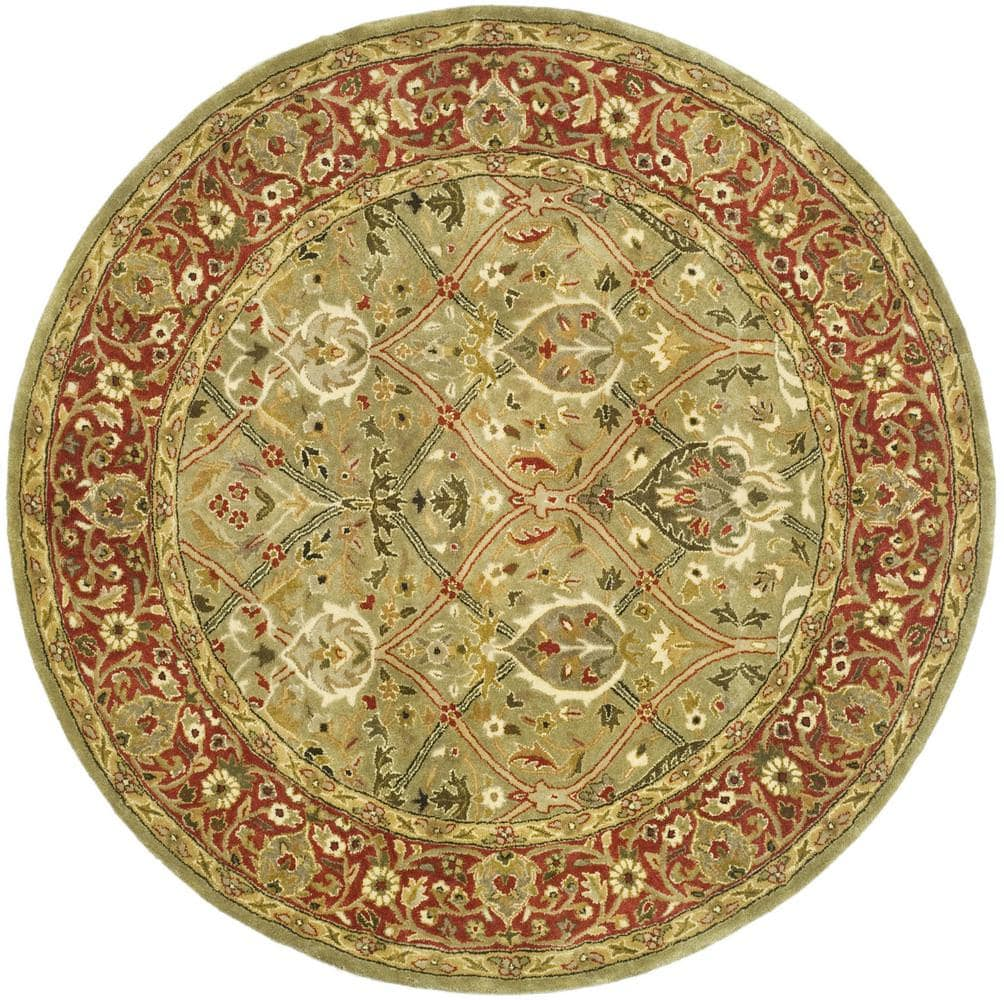 Safavieh Persian Legend PL819B Light Green - Rust Area Rug Clearance - 50186