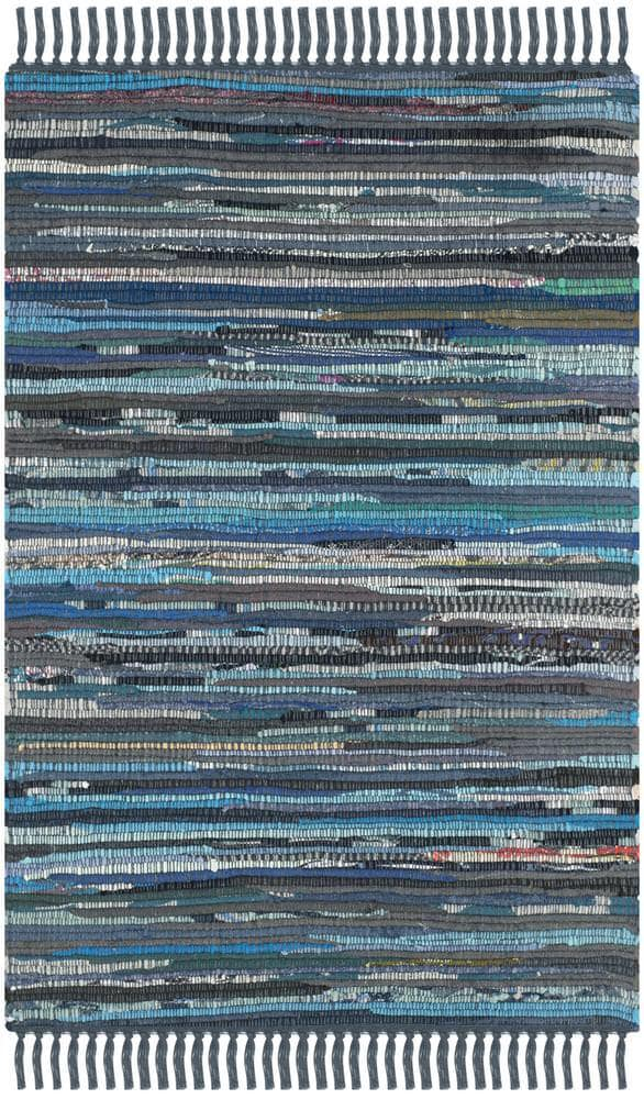 Safavieh Rag Rug Rar121c Ink - Multi Area Rug - 112173