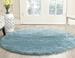 Safavieh Milan Shag Sg180 6060 Aqua Blue Rug Studio