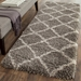 Safavieh Belize Shag Sgb489g Grey - Taupe Area Rug - 126650