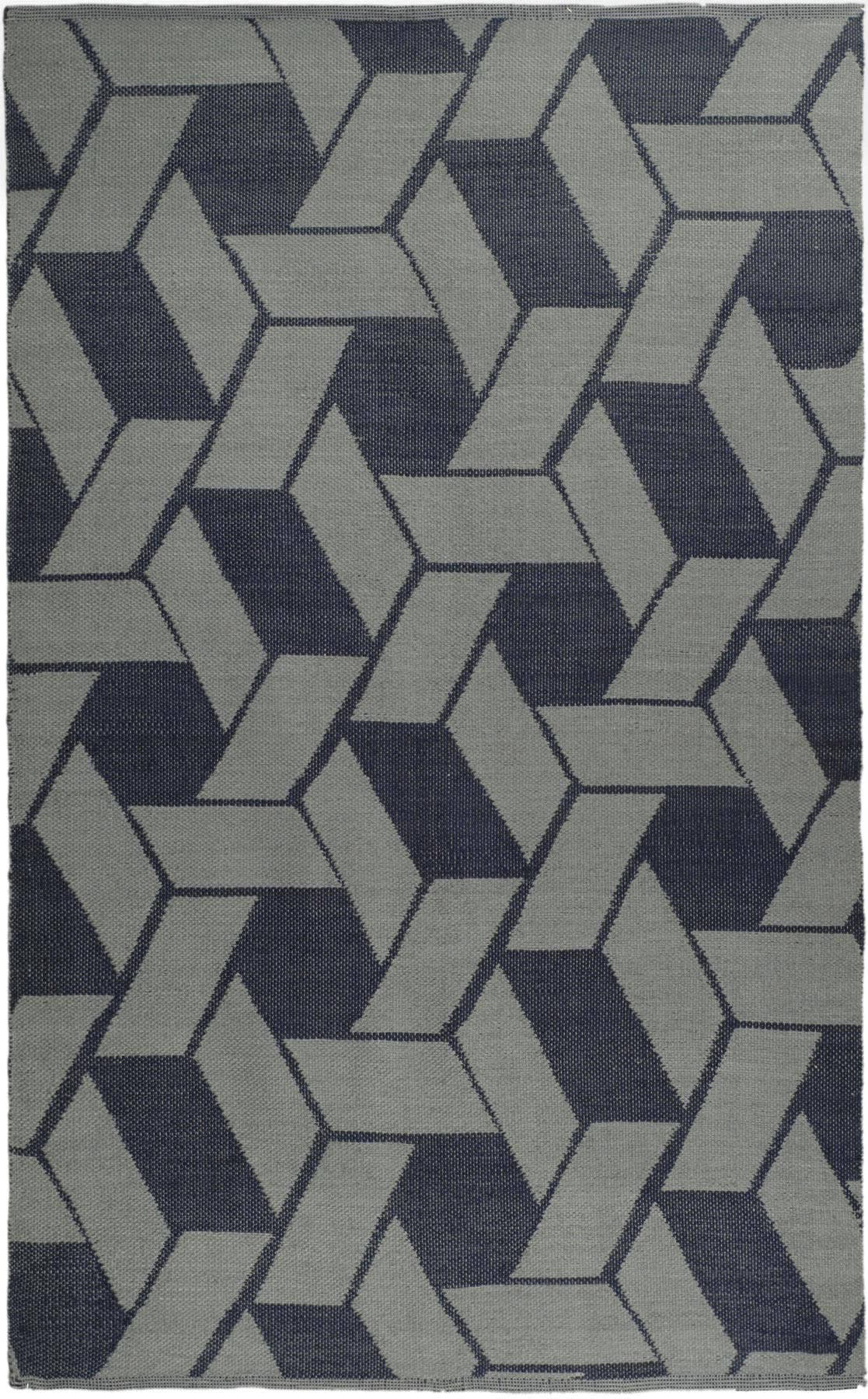 Rugstudio Sample Sale 47367R Indigo