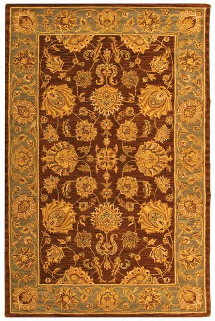 Safavieh Heritage HG343J Brown - Blue Area Rug Clearance