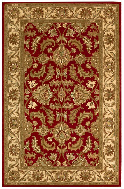 Safavieh Heritage HG628D Red - Ivory Area Rug Clearance