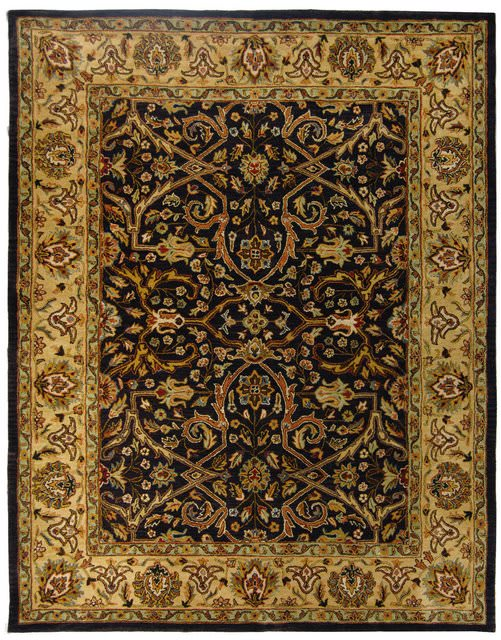 Safavieh Heritage HG644A Charcoal - Beige Area Rug Clearance