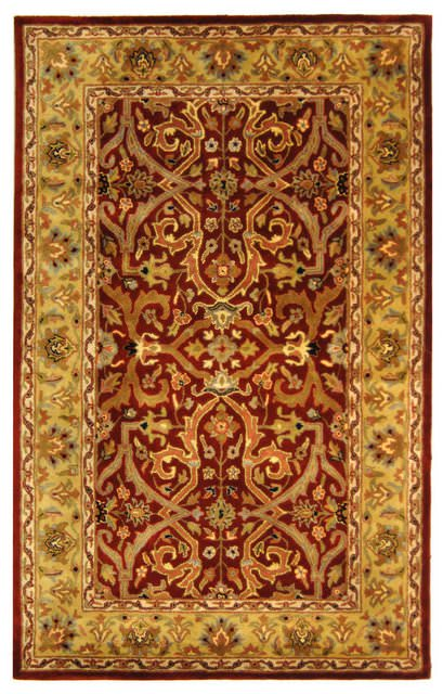 Safavieh Heritage HG644B Red - Gold Area Rug Clearance