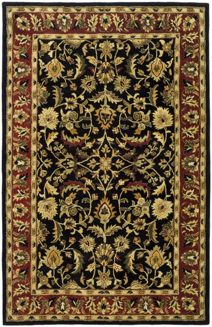 Safavieh Heritage HG953A Black - Red Area Rug Clearance