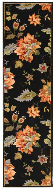 Rugstudio Sample Sale 49962R Black Area Rug Last Chance - 49962R