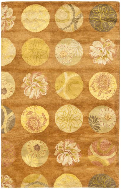 Safavieh Rodeo Drive RD954A Light Brown - Multi Area Rug Clearance