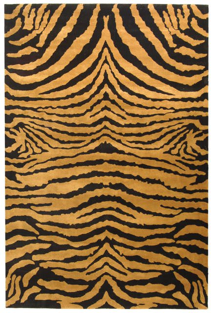Safavieh Soho Soh434e Black - Brown Area Rug