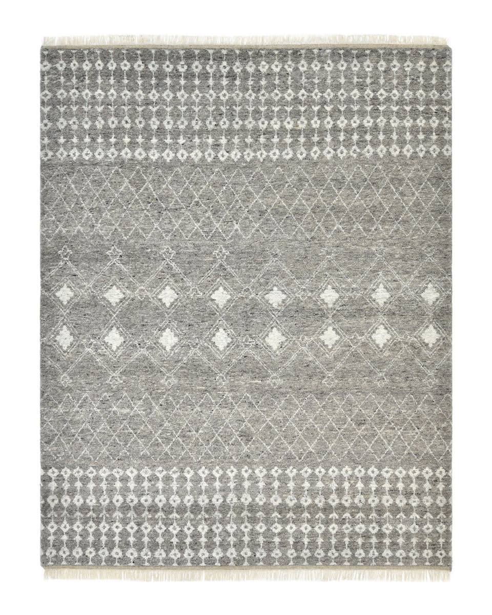Luxor Lane Knotted Vin-S3204 Gray