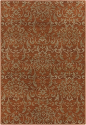 Surya Arabesque ABS-3007 Chocolate Area Rug Clearance
