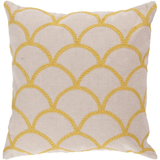 Surya Pillows Com010 Ivory-Yellow Clearance