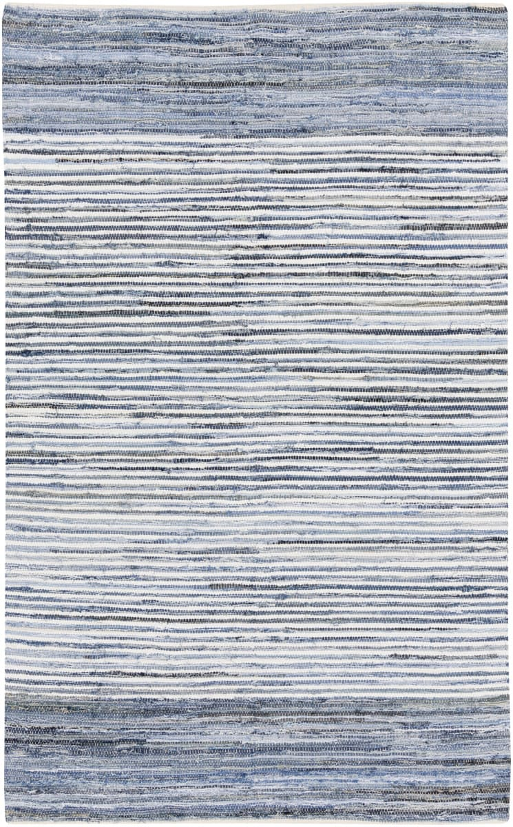 Kas Auto Sales >> Surya Denim DNM-1001 Blue Area Rug #106342