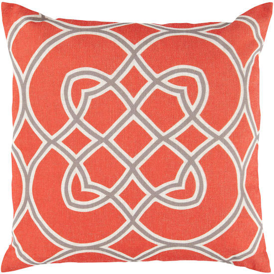 Surya Pillows FF-020 Poppy-Gray Clearance