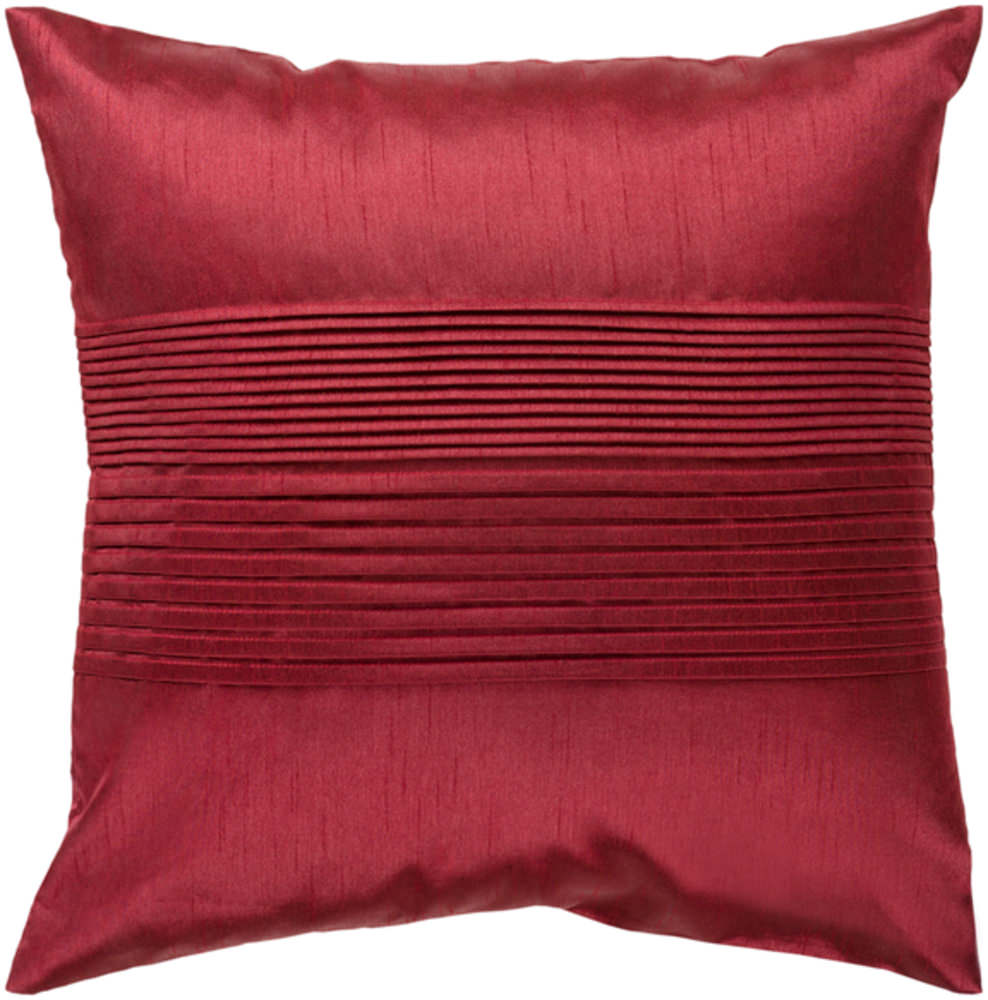 Surya Solid Pleated Pillow Hh-026