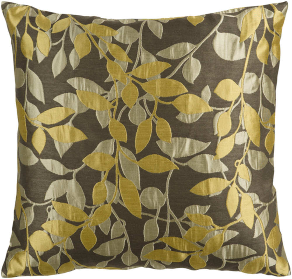 Surya Pillows HH-060 Gold-Olive