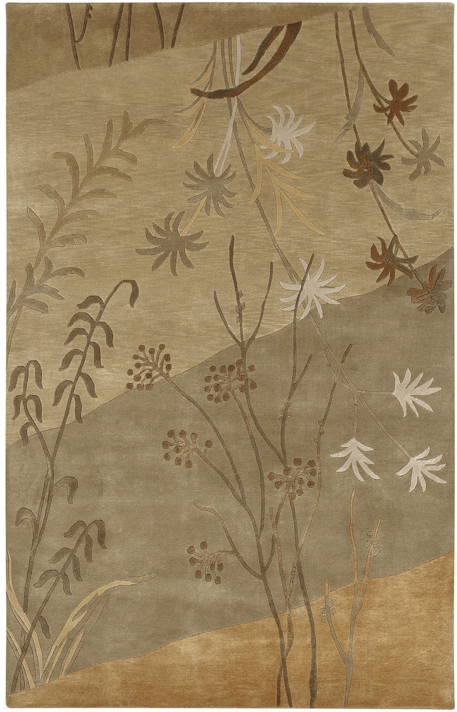 Surya Mugal IN-8056 Tan Beige Area Rug Clearance