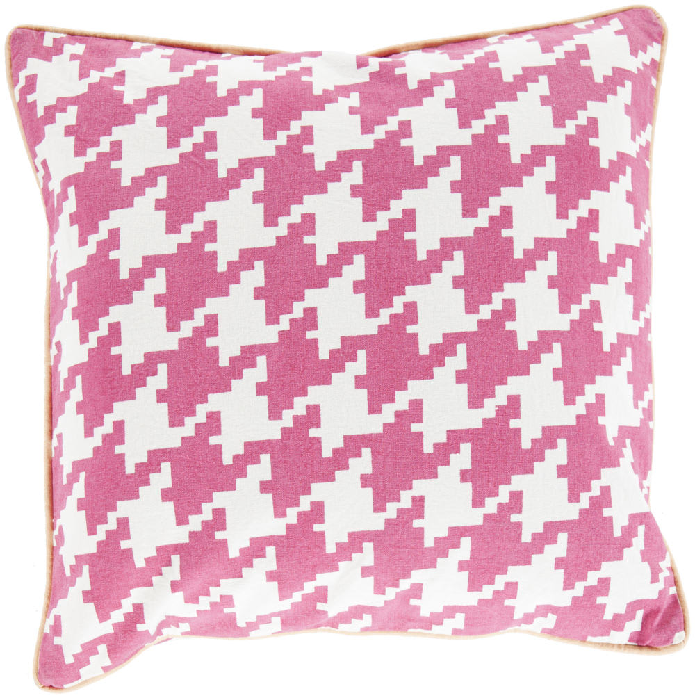 Surya Houndstooth Pillow Sy-037