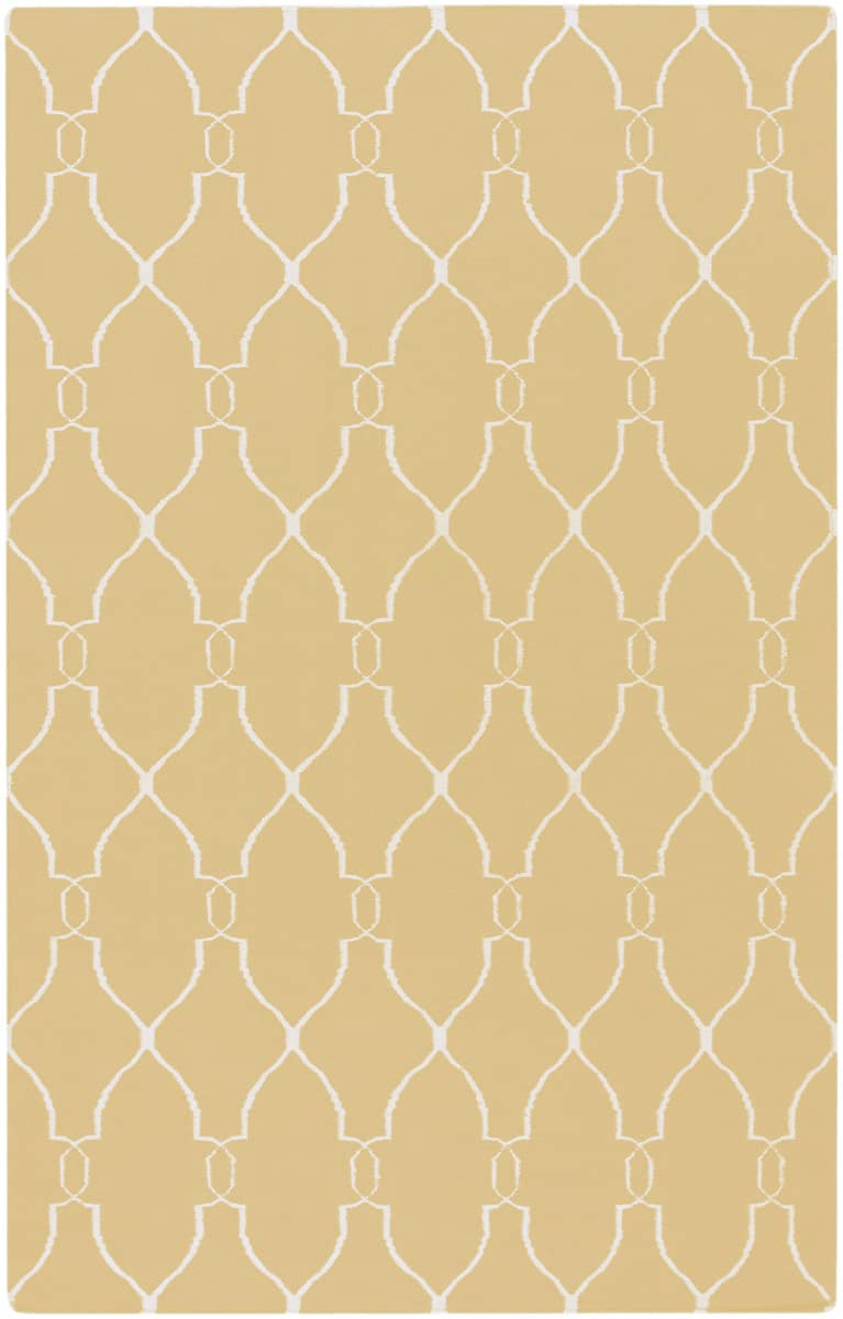 Rugstudio Sample Sale 28024R Yellow Area Rug Last Chance - 28024R