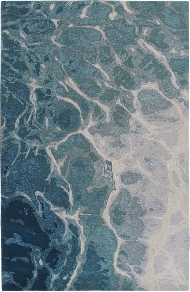 Trans Ocean Corsica Water 914603 Blue Rug Studio