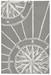 Trans-Ocean Frontporch Compass 1447/47 Grey