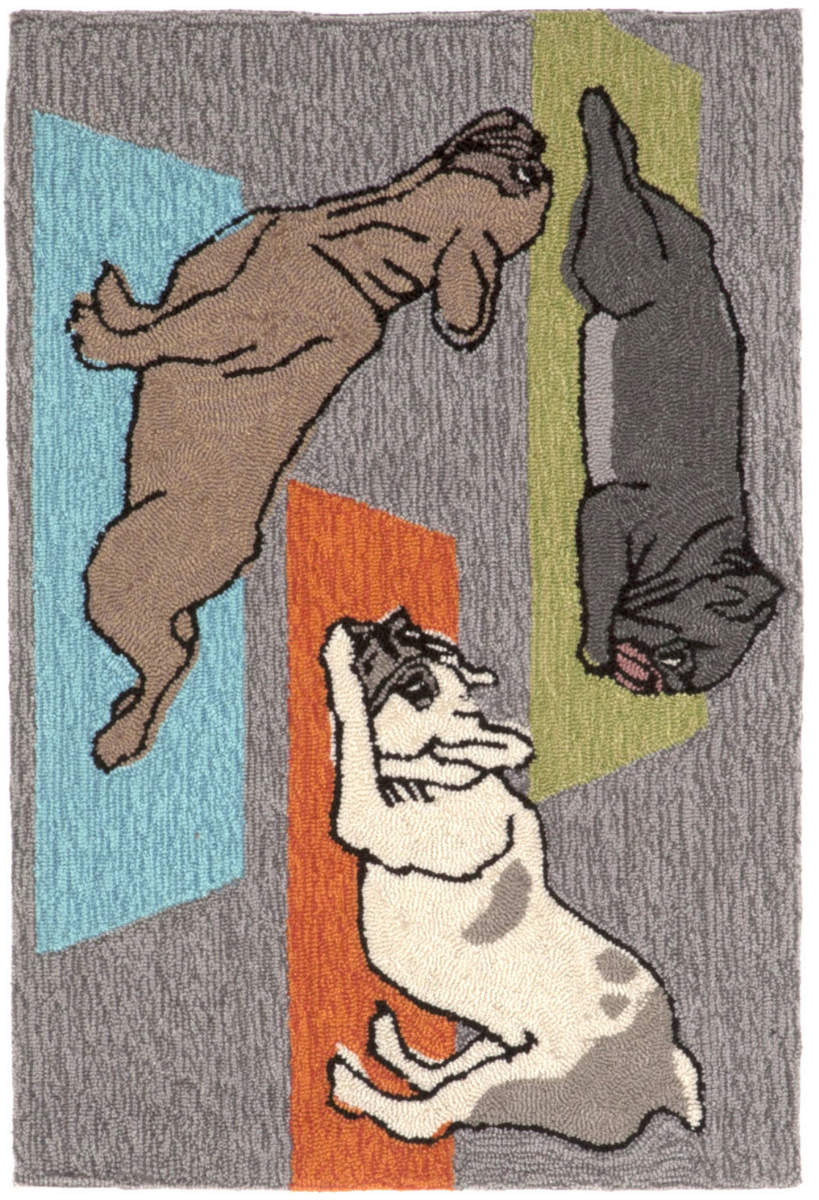 Trans-Ocean Frontporch Yoga Dogs 1488/47 Heather