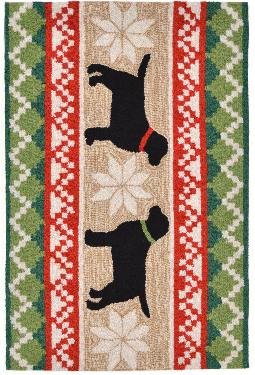 Trans-Ocean Frontporch Nordic Dogs 1565/12 Neutral