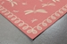 Trans-Ocean Terrace Dragonfly 179127 Coral Area Rug - 190145
