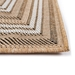 Trans-Ocean Carmel Multi Border 842512 Natural Area Rug - 206130