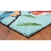 Trans-Ocean Ravella Birds On Branches 227004 Aqua Area Rug - 190050