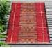 Trans-Ocean Marina Tribal Stripe 805724 Red Area Rug - 209303