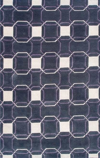 The Rug Market America Rexford Westover 44328 Purple Area Rug