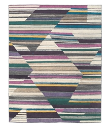 Tufenkian Lama Abstract Fall Color Area Rug Clearance