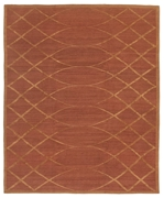 Tufenkian Shakti Arching Lattice Auburn Area Rug Clearance