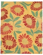 Tufenkian Kotana Flower Power Sunshine Area Rug Clearance