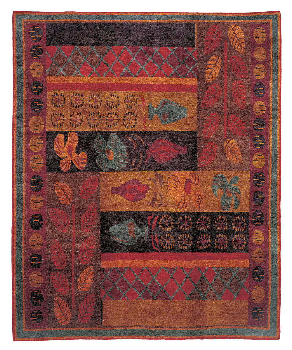 Tufenkian Setana Hothouse Midnight Area Rug Clearance
