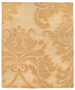 Tufenkian Shakti Implied Damask Golden Apricot Area Rug Clearance